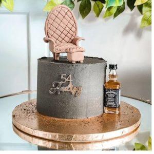 Tort urodzinowy dla 50 letniego Andrzeja z Bochni - whisky JD